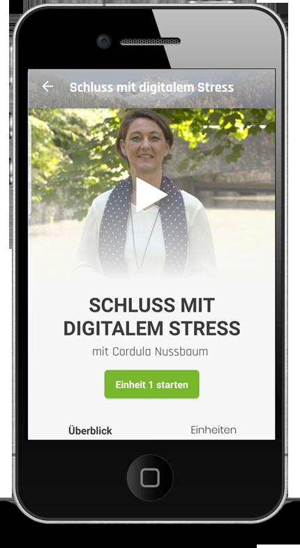 zeitmanagement app digitaler stress